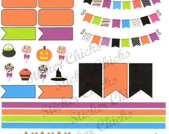 Halloween Fun Planner Stickers