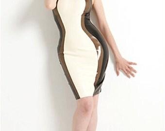 Lady Lucie Latex Contour Dress