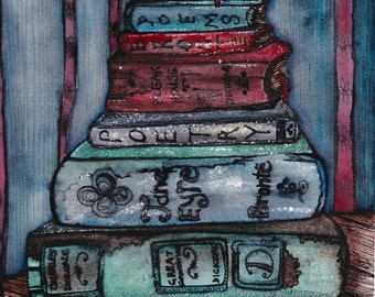 Light Reading: Art Prints in Various Sizes.