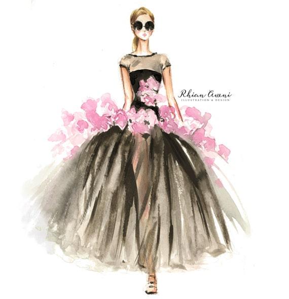 Fashion Designer Christian Lace