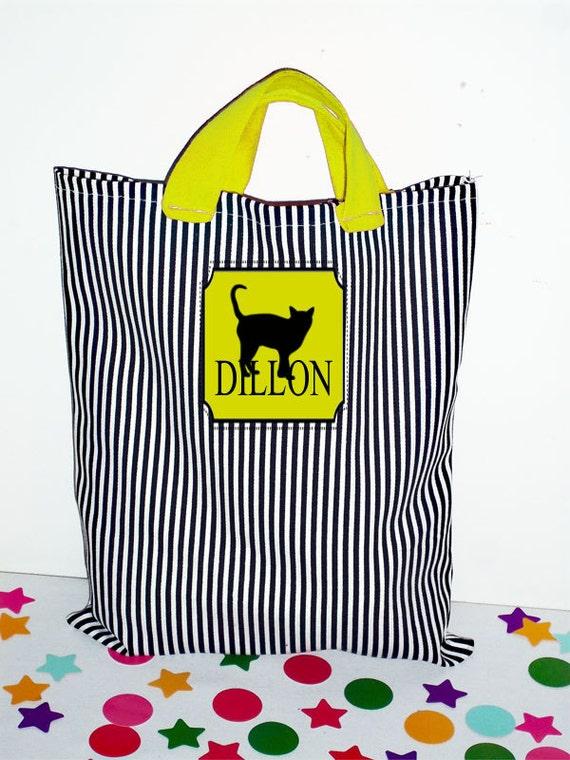 Halloween Trick or Treat Bag, Halloween Bag, Girl Halloween Bag, Boy Halloween Bag, Treat Bag, Favor Bags, Halloween Decor