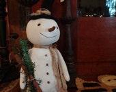 Standing Snowman
