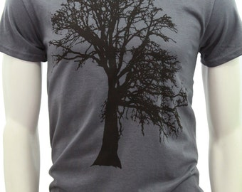 Tall Sizes | Oak tree | Men's classic T Shirt | up to 3XL | Gift for him and her | Tree hugger