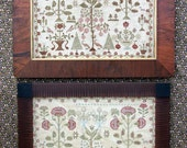 Victoria's Garden (a Faithfully Reproduced Antique Sampler) Cross Stitch Pattern