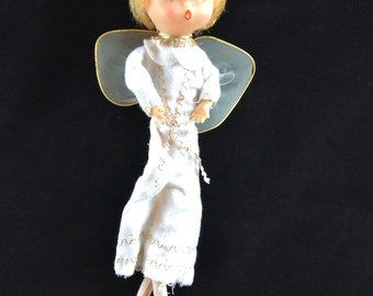 Vintage White Christmas Angel - Made in Japan