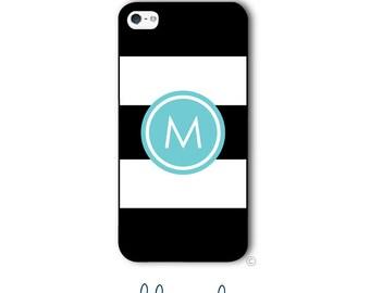 Stripes Phone Case Monogram iPhone 6 Case Stripe Monogram iPhone 6s Case Samsung Galaxy S5 S6  iPhone 5 iPhone 6 Plus iPhone 5c Style 289
