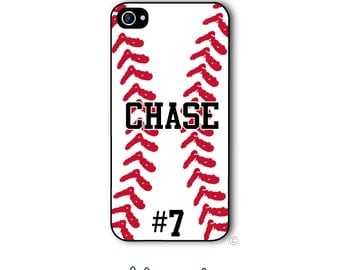 Baseball Phone Case iPhone Softball 6 Case iPhone 6s Case Samsung Galaxy S5 S6 Case iPhone 5 Case iPhone 6 Plus Case iPhone 5c Style 197