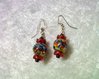 Multicolor Festive Earrings (1125)