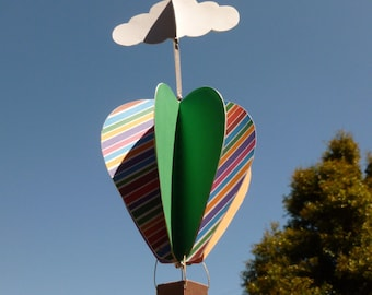 Print-it-Yourself DIY Hot Air Balloon Mobile