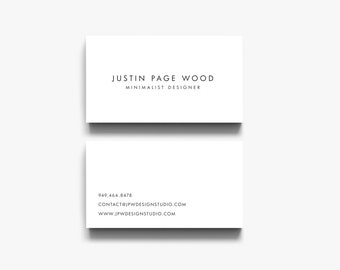 Business Cards, Calling Cards, Business Card Download, Business Card Template, Premade Cards, Modern Digital Business Card,