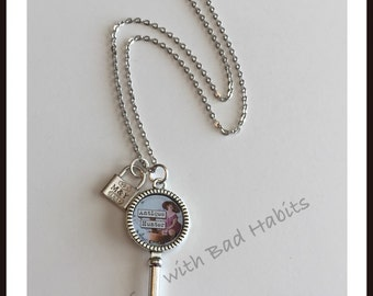 Antique Hunter Necklace with charm