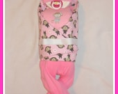 Diaper Cake Baby Adorable Baby Girl PINK Monkey Themed Stunning Centerpiece