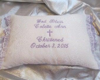 Christening Pillow
