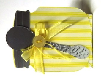 Baby Shower Favors (Set of 6) Yellow