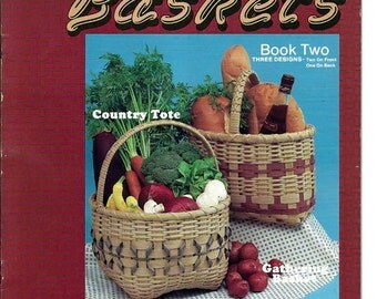 Nancy's Baskets Book Two by Nancy Gruber Craft Pattern booklet 85006