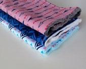 What A Gem Burp Cloth Set