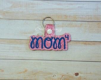 Mom key fob, Mom Key chain