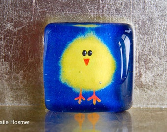 Hilarious Chick Magnet: 1.5-inch Square Super Strong Magnet