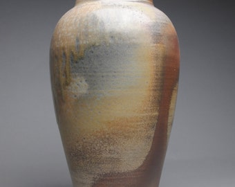 Vase Wood Fired Pottery B95