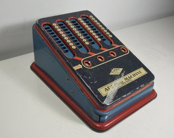 Vintage Wolverine Toy Adding Machine, Made in U.S.A.
