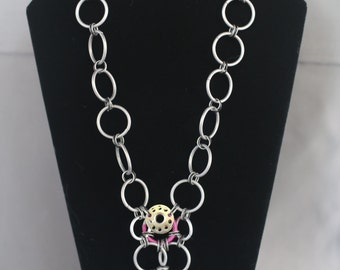 Chain-Bobbin Necklace
