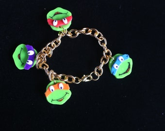 Teenage Mutant Ninja Turtles Charm Bracelet