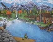 Idaho Dreams Art Print Th...