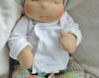 "Waldorf, Nurture Baby, custom 15"" doll"