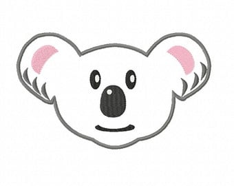 koala face etsy. Black Bedroom Furniture Sets. Home Design Ideas