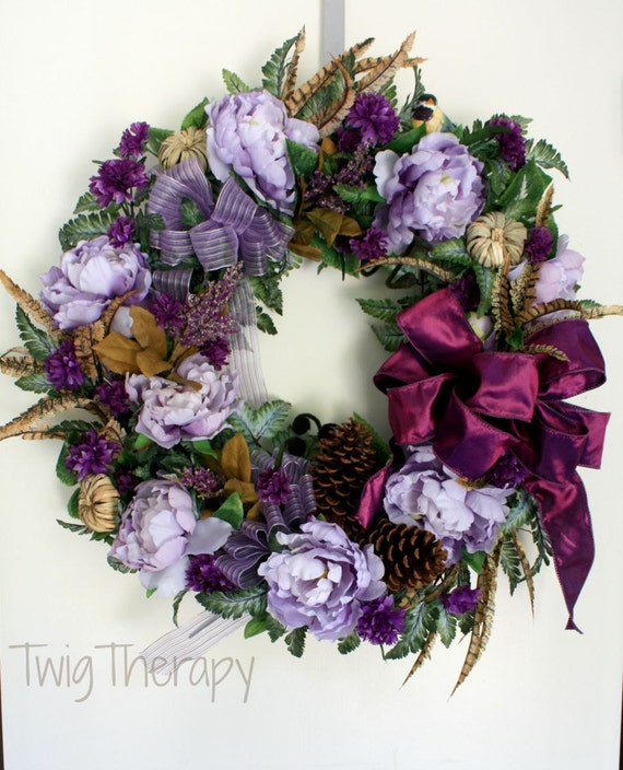On Sale Spring Wreath Luxury Wreath Autumn By Twigtherapy