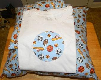 Sports Pajamas & Pillow
