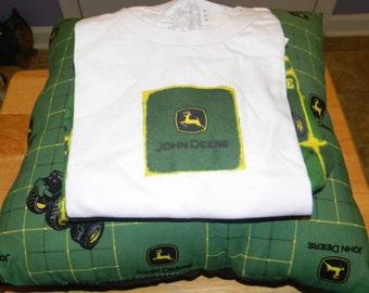 John Deere Pajamas & Pillow