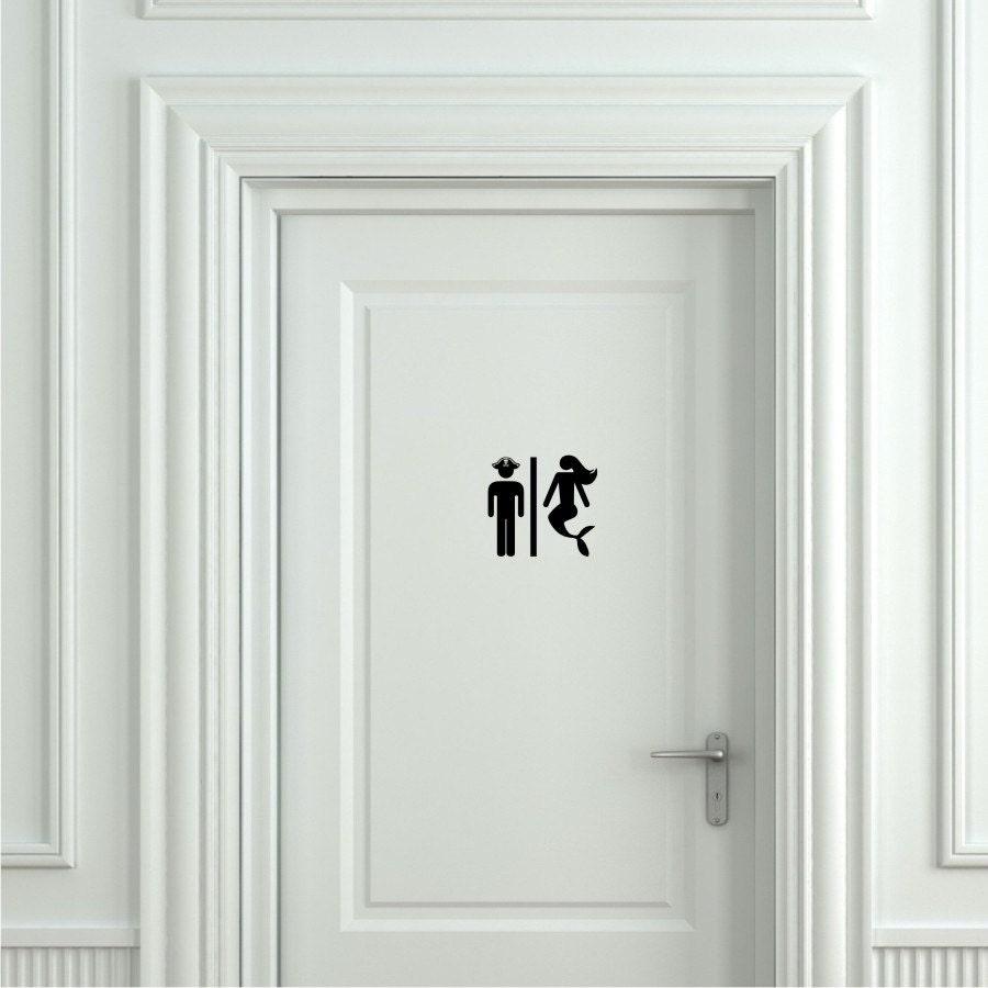 Sign for bathroom door -  Zoom