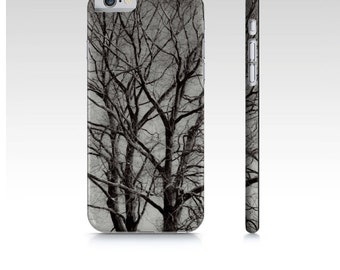 Nature Tree Art iPhone 6 Case, Black White Phone Case, Premium Art Case For iPhone 6, iPhone 6 Accessories, Tree Branch Art iPhone Cover