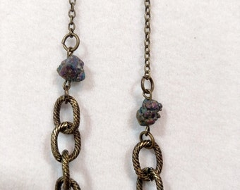 Chain and Rock Necklace