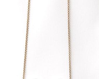 Concrete eyeglass necklace