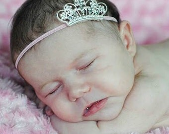 Newborn Crown Infant Headband Infant Tiara Newborn Crown Newborn Prop Baby Girl Crown Newborn Girl Take Home Outfit Baby Shower Gift