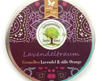 CremeDeo Lavender dream vegan deodorant