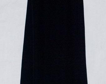 Vintage 60's Bess Art Made in Paris France Maxi Dress.