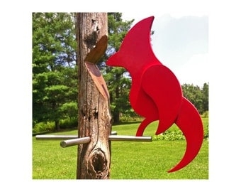 Modern Bird Weathervane or Hanging Decorative Garden - Porch Art