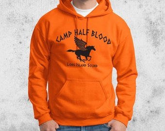 Camp Half Blood Percy Jackson Halloween Costume Hooded Sweatshirt Adult Youth toddler sizes S-4XL Hoodie
