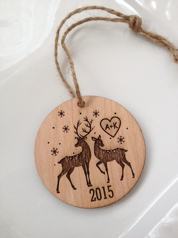 Personalized christmas ornament engraved by sweetpinehills