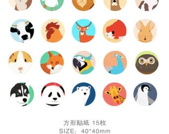 InFeel Animals Sticker Pack SM312424