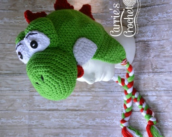 Crochet Yoshi Hat -- Best Seller