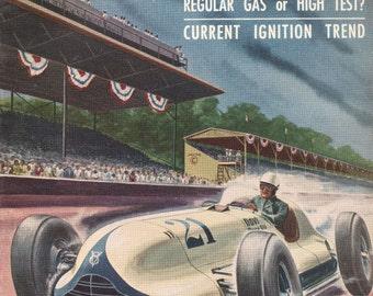 Speed Age June 1953 Sports Cars Automobile Racing Magazine Scarce!