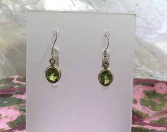 Peridot Sterling Earrings | August Birthstone  | Several Styles
