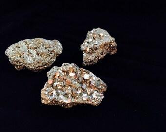 Natural Gold Pyrite