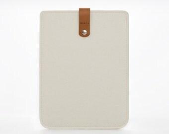 Felt iPad Cover - iPad Mini Case - Mini Cover - Felt Leather Case - iPad Cover