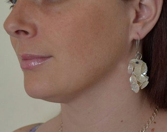 Keishi Pearl Necklace & Earrings