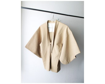 SALE - 1970's Tan Kimono Jacket